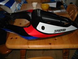GSXR 750 Heckverkleidung (s125)