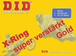 DID Kettenkit, GSF1200Bandit 1200 ccm, Bj: 1996-2005, GV75A,GV77A