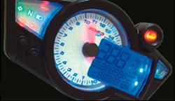 Elektronischer Tacho, Koso GP Style Speedometer RX1N