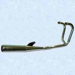 Motad Komplettanlage Classic 2in1 Stahl verchromt