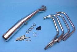 Motad Komplettanlage Classic 4in1 Stahl verchromt