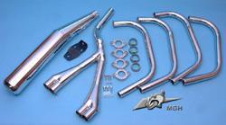 Motad Komplettanlage Classic 4in2in1 Stahl verchromt