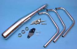 Motad Komplettanlage Classic 3in1 Stahl verchromt