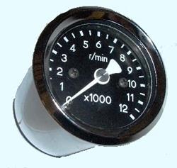 Highway Hawk elektronischer Drehzahlmesser CHROM