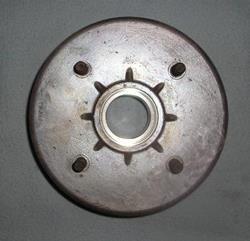 Bremstrommel hinten AIXAM
