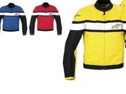 ALPINESTARS Textiljacke STELLA T-FLAT Blau
