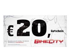 BikeCity Gutschein ¤ 20,-