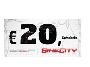 Bild von BikeCity Gutschein ¤ 20,-