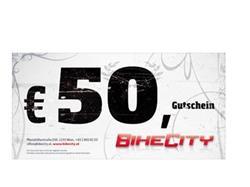BikeCity Gutschein ¤ 50,-
