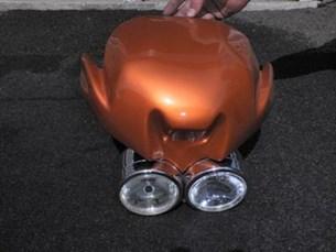 Bild von Scheinwerferverkleidung mit Scheinwerfer Hornet