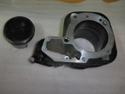 Zylinder links inklusive Kolben BMW R 1100 RT BJ: 1996