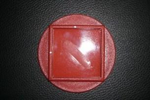 Bild von Pad Seitenständer rot