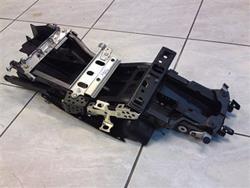 Kawasaki ZX-6R Ninja Rahmen Heck