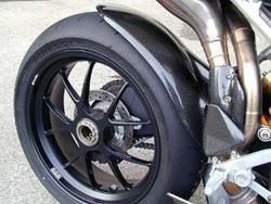 Carbon Kotflügel hinten zu MV Agusta F4