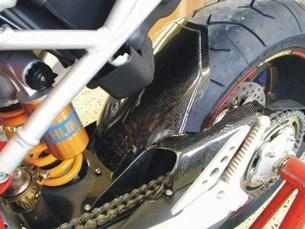 Bild von Kotflügel hinten Ducati Hypermotard