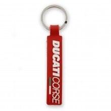 Ducati Corse 12 Gummi Schlüsselanhänger