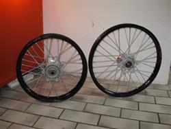 KTM Radsatz SX/EXC 21/18 schwarz/silber