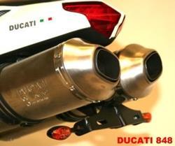 Kennzeichenträger DUCATI 848 und 1098 S ab `08