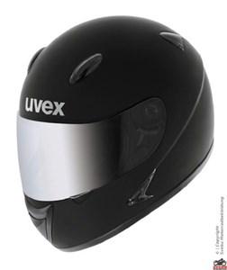 Bild von Uvex Flash S schwarz met. shiny