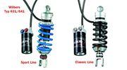 Zurrgurtsatz für BMW R850R, R1100R, R1150R & Rockster