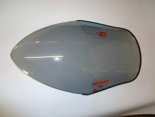 Bild von Kawasaki Windschild für ER-6F Baujahr 2006-2009 Rauchgrau