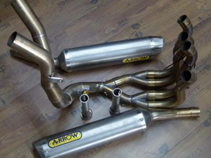Bild von Yamaha YZF 1000 R1 Arrow Auspuffanlage