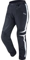 IXS Textilhose Maastricht schwarz weiß L + M