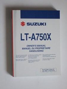 Bild von Suzuki LT-A750X Benutzerhandbuch En,Fr,Du