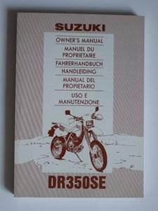 Bild von Fahrerhandbuch DR 350 SE