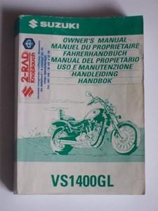 Bild von Fahrerhandbuch VS1400GL