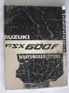 Bild von Suzuki Wartungsanleitung GSX600F stark gebraucht