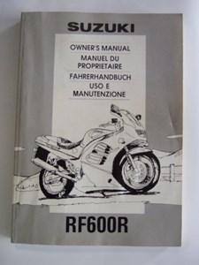 Bild von Suzuki Fahrerhandbuch RF600R