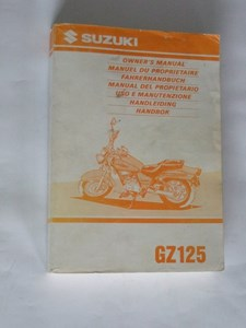 Bild von Suzuki Fahrerhandbuch GZ125
