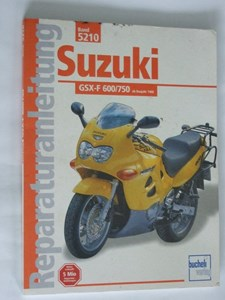 Bild von Reparaturanleitung Suzuki GSX-F600/750