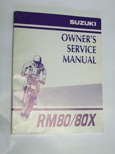 Bild von Suzuki Fahrerhandbuch RM80/80X