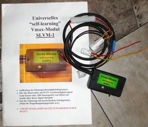 Bild von L-Tronic Universelles selbstlernendes Vmax-Modul Aufhebung des Höchstgeschwindigkeitsbegrenzers