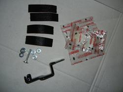 Befestigungs KIT Hypermotard Batterie