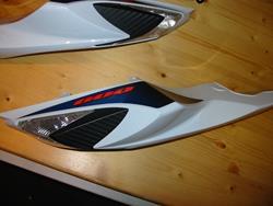 Original Verkleidung Heck re. GSXR 750 / 600 2011-