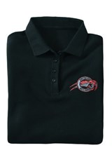 ARCTIC CAT Golf-Shirt Black S