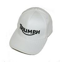 Triumph Logo Cap weiss