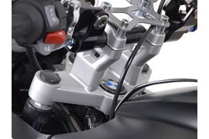 Bild von Lenkererhöhung. H=30 mm. Silbern. BMW R1200GS/Adventure (08-).