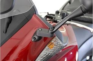 Bild von Spiegelverlängerung. Schwarz. Max. Verlegung: 40 mm. Honda.
