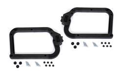 Adapterkit für EVO Kofferträger. Für Hepco & Becker. Montage: 2 Kunststoff-Koffer.