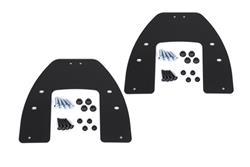 Adapterkit für EVO Kofferträger. Für Krauser mit K-Wing. Montage von 2 Koffern.