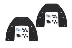 Bild von Adapterkit für EVO Kofferträger. Für Krauser mit K-Wing. Montage von 2 Koffern.
