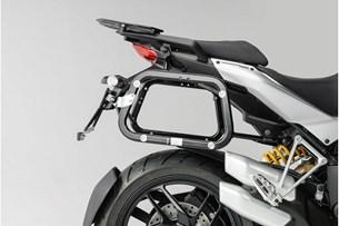 Bild von EVO Kofferträger. Schwarz. Ducati Multistrada 1200 / S (10-14).