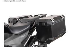 EVO Kofferträger. Schwarz. Honda NC700S/X (11-14),NC750S/X (14-15).