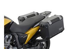 EVO Kofferträger. Schwarz. Honda XL 700 V Transalp (07-12).