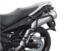 EVO Kofferträger. Schwarz. Suzuki DL 1000 V-Strom /Kawasaki KLV1000.