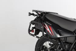 EVO Kofferträger. Schwarz. Verstärkt. Kawasaki KLR650 (08-).